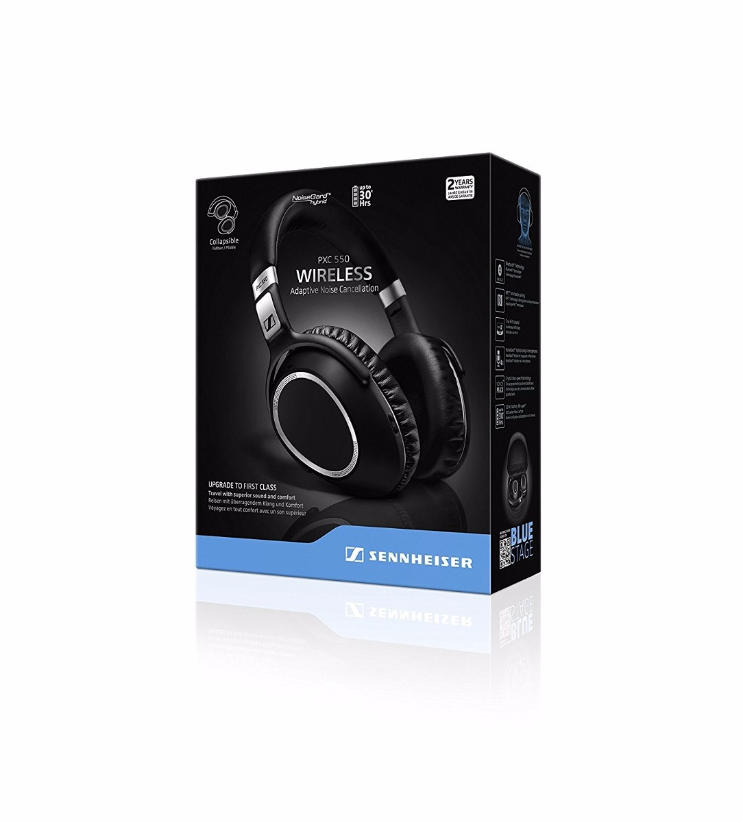 Strepito Auricular Sennheiser PXC 550 Wireless Adaptive Noise Cancellation