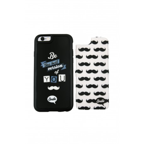 Tahirah Funda 2 en 1 Dress Me Hipster Smile Iphone 5/5S/5SE