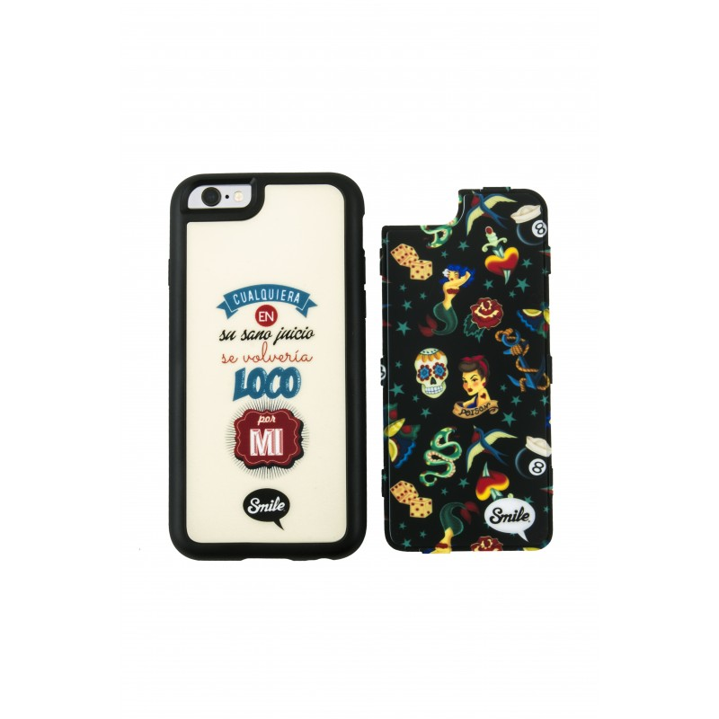 Tahirah Funda 2 en 1 Dress Me Pin Up Smile Iphone 5/5S/5SE